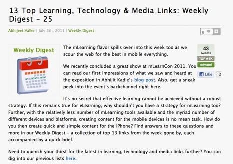 Mobile Learning and Tablets in Education RoundUp! | Apps in Education | eLearning_mLearning | Scoop.it
