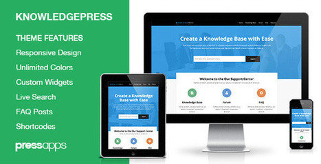9 Hassle-Free WordPress Wiki / Knowledge Base / FAQ Themes | Online Marketing | Scoop.it