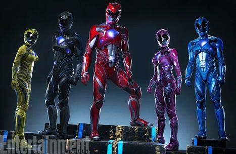 Power Rangers presenta nueva imagen promocional | Noticias Anime [es] | Scoop.it