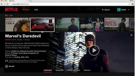 Netflix's new homepage makes it much easier to find movies you like | Video On Demand | Scoop.it