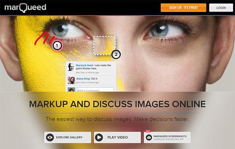Marqueed.com : créer des collections d'images en mode collaboratif - Académie de Poitiers | Usages numériques et Histoire Géographie | Scoop.it