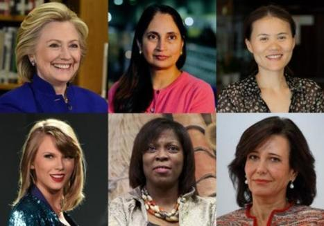 The Top 25 Most Powerful Women - In Photos: 25 Most Powerful Women | WOB Women on Boards | Scoop.it