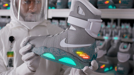 Nike's Back to the Future self-lacing shoes to hit market in 2015 | News | Geek.com | Technology changing the common life | Scoop.it