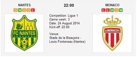FC Nantes vs. AS Monaco - Ligue 1 Preview | Pronostici scommesse | Scoop.it
