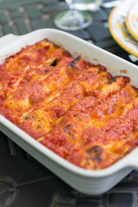 Cannelloni ricotta e spinaci - Spinach and Ricotta Cannelloni | Le Marche and Food | Scoop.it