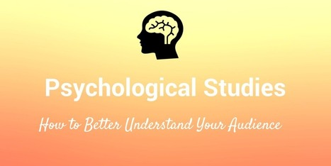 15 Psychological Studies That Will Boost Your Marketing | Social Media Menu | Scoop.it