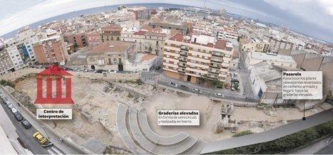 El teatro romano tendrá un museo y gradas metálicas en el centro | LVDVS CHIRONIS 3.0 | Scoop.it