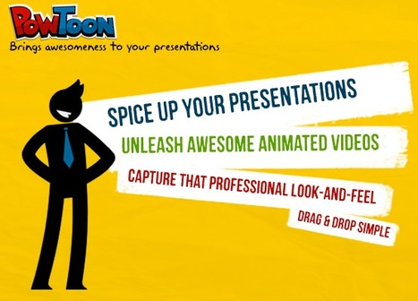 PowToon - Brings Awesomeness to your presentations | Web 2.0 Tools in the EFL Classroom | Scoop.it
