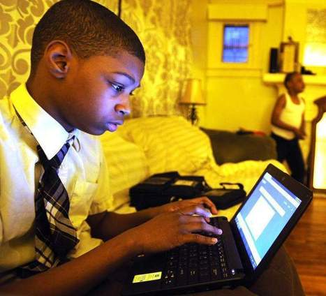 Virtual classroom - The Detroit News   Tablet use in the classroom   Scoop.it