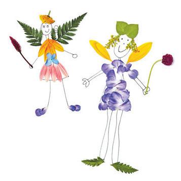 Flower Fairies | Botany Whimsy | Scoop.it