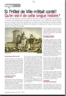 Les Archives municipales d'Angoulême - Si l'Hôtel de Ville m'était conté! | GenealoNet | Scoop.it