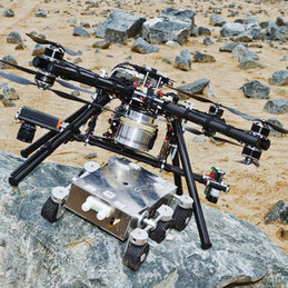 Dropship offers safe landings for Mars rovers | Heron | Scoop.it