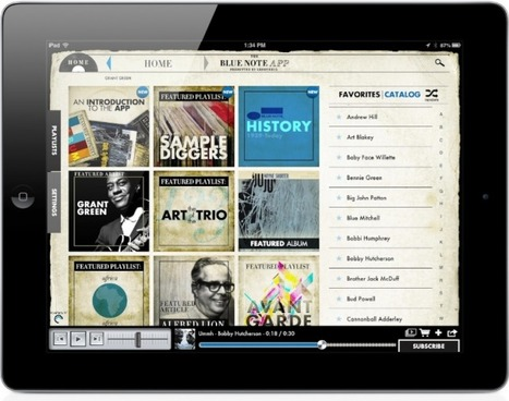"Jazz Music Fans Should Give A Warm Welcome To The Blue Note App For iPad -- AppAdvice | ""iPads for learning"" 