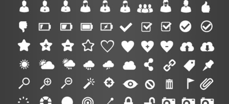 Free Icon Pack: 375 Retina-Display-Ready Icons | The development of creative thinking | Scoop.it