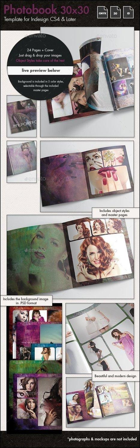 Photobook Fashion Album Template - 30x30cm | About Design | Scoop.it