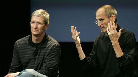 Apple agacé par un livre sur la succession de Steve Jobs   L'actualité high tech   Scoop.it