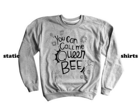 Lorde Royals Sweatshirt   You Can Call Me Queen Bee Sweater   T-Shirt   Scoop.it