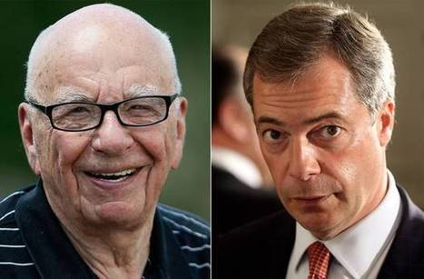 Nigel Farage and Rupert Murdoch: Britain's biggest Eurosceptic and its most powerful media mogul have private meeting | Welfare, Disability, Politics and People's Right's | Scoop.it
