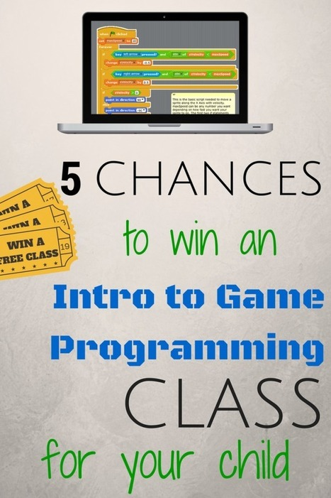 5 Chances to Win an Online Programming Class for your Child - | Computer Education for kids | Scoop.it