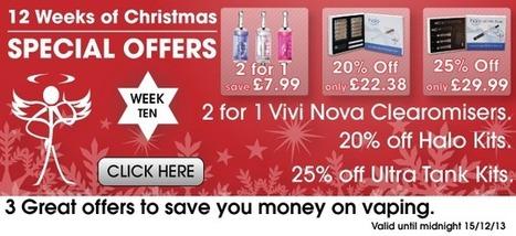 E Cigarette Christmas Gift Discounts 2013 | E Cigarettes UK | Scoop.it