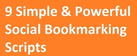 9 Simple & Powerful Social Bookmarking Scripts | 26 Ultimate Premium Facebook Page Templates | Scoop.it