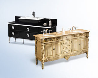 Buy Bathroom Furniture & Vanities | DecorPlanet.com | double sink vanities | Scoop.it