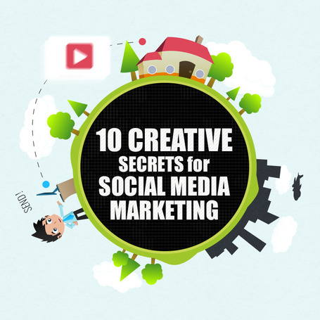 10 Creative Secrets For Social Media Marketing [Infographic] | Social Mercor | Scoop.it