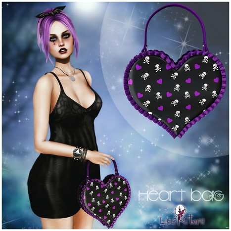Heart Bag Halloween Edition Group Gift by Luas   Teleport Hub - Second Life Freebies   Second Life Freebies   Scoop.it