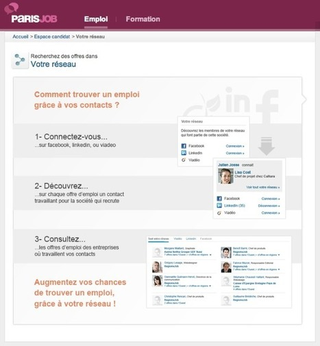 Regionsjob lance Regionsjob social ! Un outil gratuit pour optimiser l'utilisation des reseaux sociaux pour sa recherche d'emploi | Orientation, insertion, formation professionnelle | Scoop.it