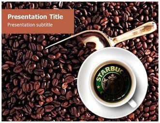 Starbucks Coffee PowerPoint Template | the next big idea | Scoop.it