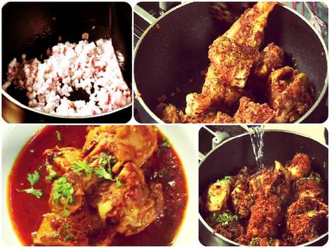 Spicy Chicken Kolhapuri Recipe | Recipes | Scoop.it