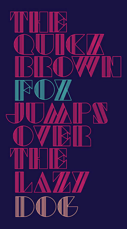 30 Remarkable Examples Of Typography Design   Typography   Graphic Design Junction   Designing   Scoop.it