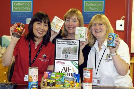 St Helens libraries to accept food bank donations as fines | Libraries, Communities and Customers | Scoop.it