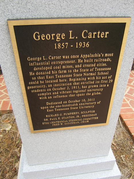 Mountain Empire Builder  George L. Carter's vision built this region | Tennessee Libraries | Scoop.it
