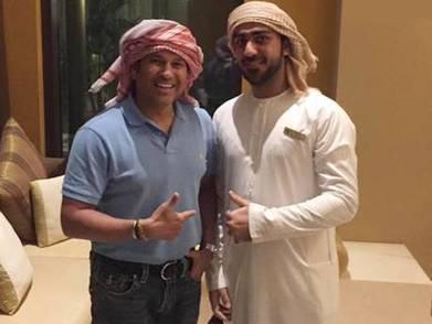 Tendulkar makes another flying visit to Dubai - gulfnews.com | Sachin Ramesh Tendulkar | Scoop.it