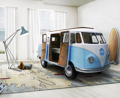 Le lit combi Volkswagen - Le Baby Blog - Doctissimo | VW Cox Aircooled | Scoop.it