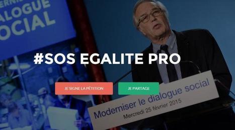 L'égalité hommes-femmes mise à mal par le projet de loi sur le dialogue social | Égalité | Scoop.it