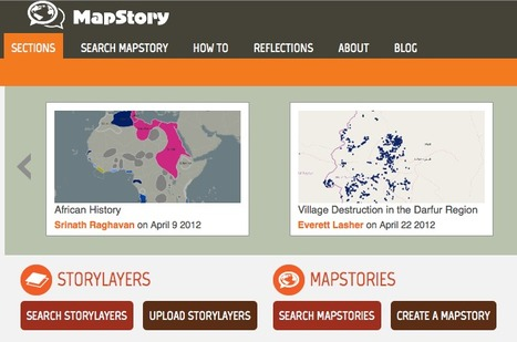 MapStory : Welcome! | Digital Storytelling Tools, Apps and Ideas | Scoop.it