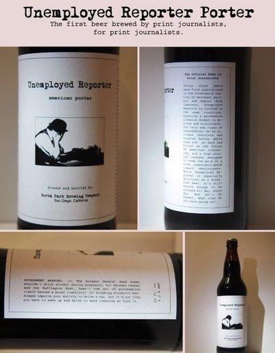 Reportero desempleado no buscó trabajo… creó una cerveza para periodistas | Cervejas - Material Complementar | Scoop.it
