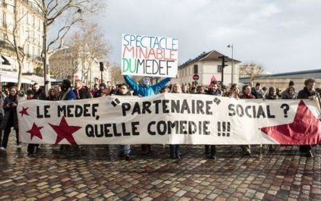 Assurance chômage : les intermittents ont manifesté contre le Medef | DOUCE FRANCE... | Scoop.it