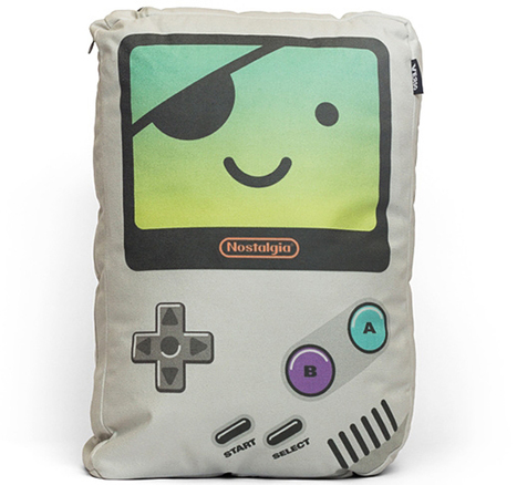 Verso Game Boy Pillows: Now You're Sleeping with Nostalgia | Technology | Scoop.it