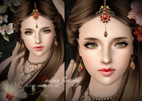 S-Club Privée | Indian Jewelry Set N1 & N2 | Sims 3 Things | Scoop.it