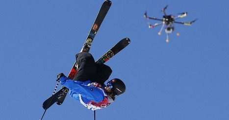 Drones Are the Future of Sports Photography | Communication design | Scoop.it
