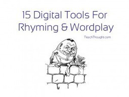 15 Digital Tools For Rhyming & Wordplay | MI apps | Scoop.it
