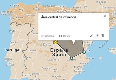 Mapas básicos y útiles con My Maps | GESTIÓN Y CURACIÓN DE CONTENIDOS | Scoop.it