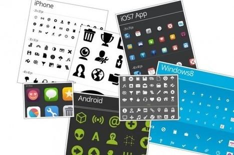 Nuevo set de iconos totalmente gratis, incluso para proyectos comerciales | Tools, Tech and education | Scoop.it