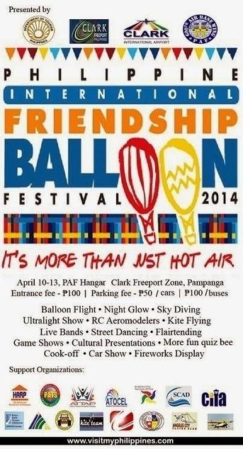 Philippine International Friendship Balloon Festival 2014 | Civil ... | Philippine Festivals | Scoop.it