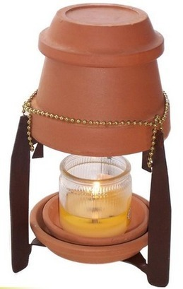 KANDLE HEETER: A modest candle powered room heater. - Indianeers | Want not, Waste not | Scoop.it