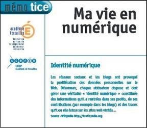 #ClasseTICE - De l'identité numérique à l'usage des élèves… | enseignement disciplinaire info doc | Scoop.it
