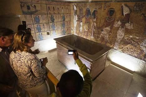 Réplique de la tombe de Toutankhamon : la seule chose qui manque, c'est la momie. | Égypt-actus | Scoop.it